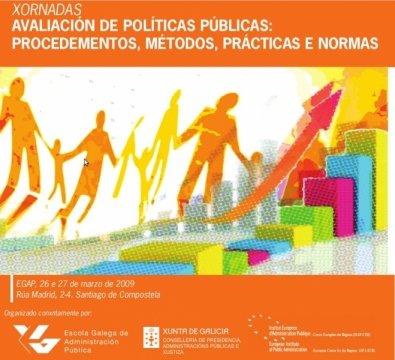 Xornadas Avaliación de Políticas Públicas: procedementos, métodos, prácticas e normas